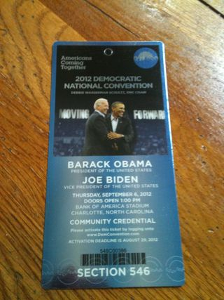 Obama ticket
